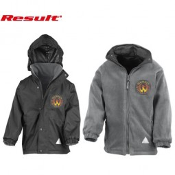 Reversible Coat, Branded Inside and Outside
