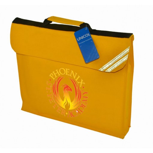 Branded Yellow Bookbag